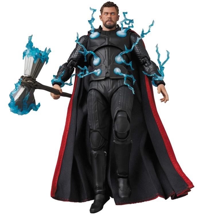 Avengers Infinity War Mafex No 104 Thor Avengers Thor Marvel Action Figures