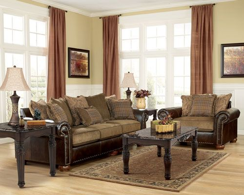 Rent Furniture Ashley Briar Place Antique Sofa Chair