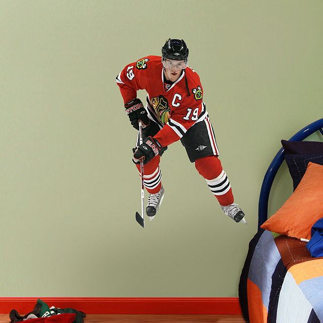 Jonathan Toews   Fathead Jr. Wall Graphic | Chicago Blackhawks Wall Decal |  Sports Home