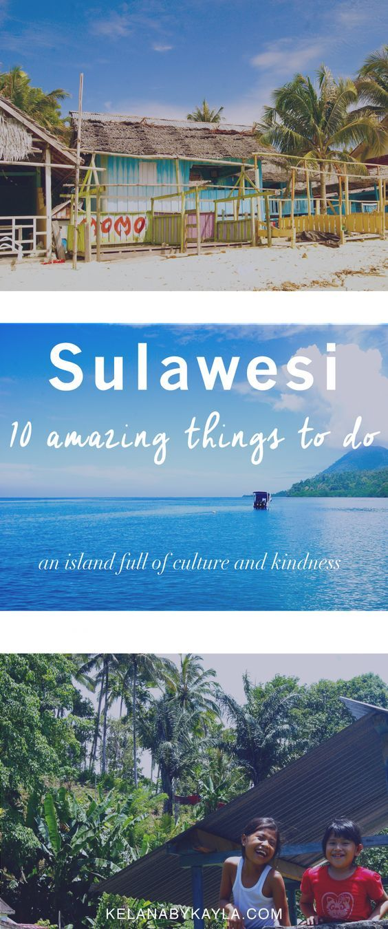 10 amazing things to do in sulawesi | indo2018-19? | travelling.