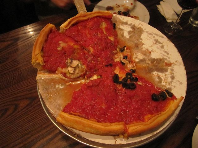 Patxis Pizza (San Francisco/USA): most delicious Chicago style pizza! Very, very flavorful!