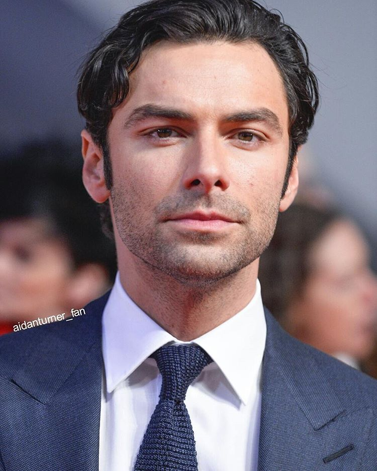 I still can't get over how good he looked!!!  #AidanTurner