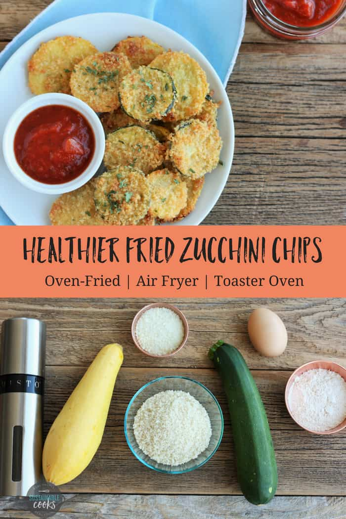 Make amazing and easy fried zucchini chips for your family