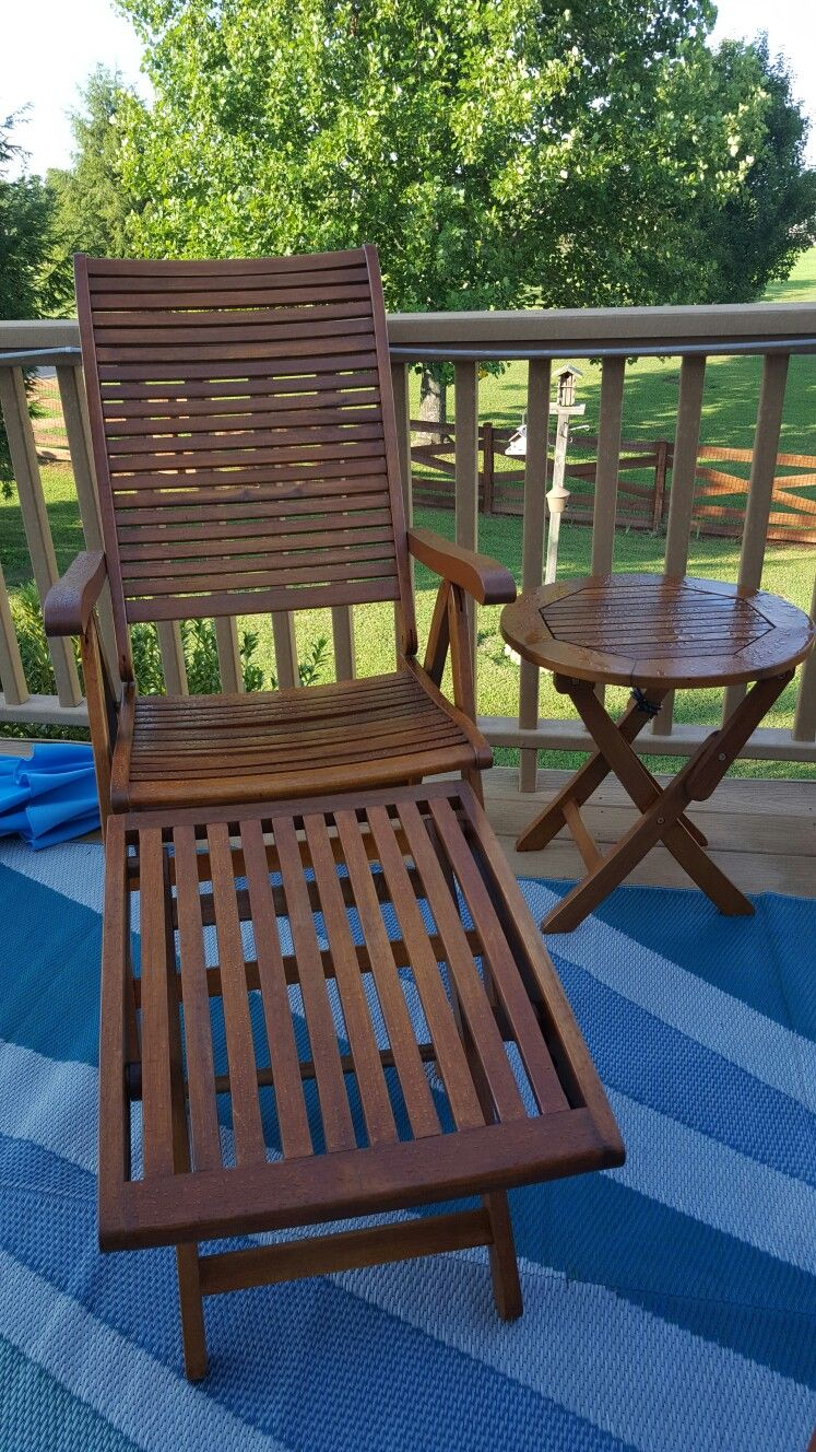 Yellow Balau Patio Furniture Finished With Cabot Australian Timber Oil Honey Teak