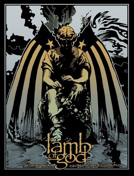 Lamb Of God Electric Factory Killadelphia