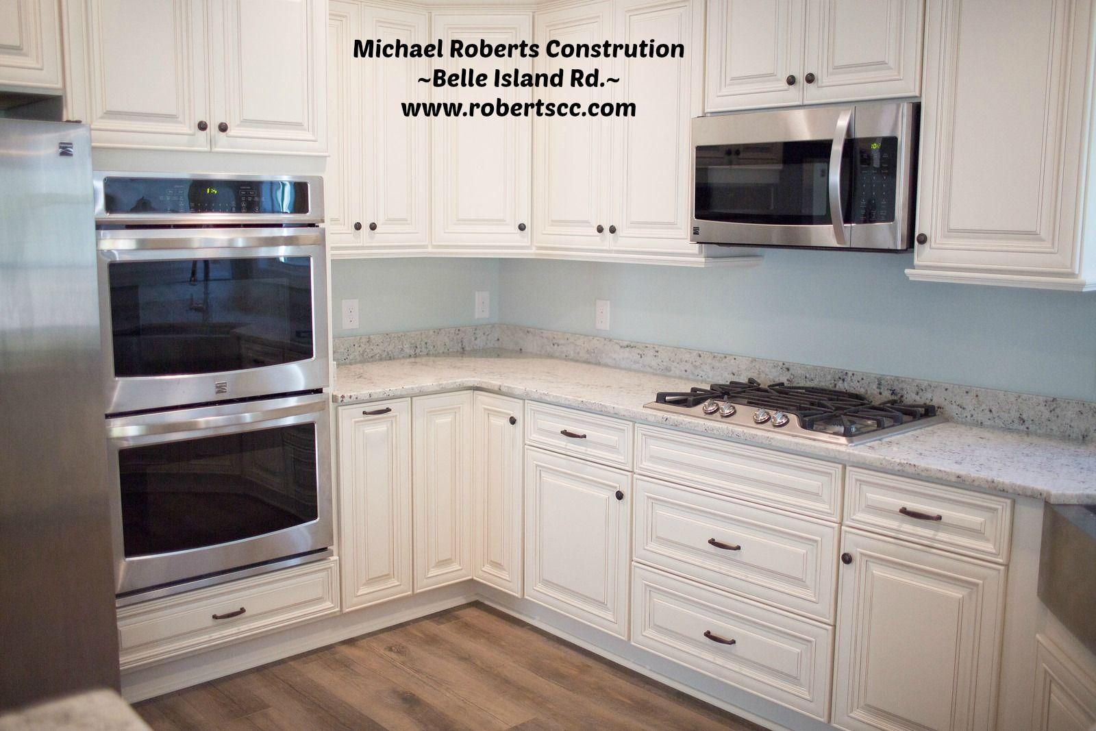 Amazing White Cabinets With Oak Wood Floor Oak Wood Floors Custom Homes Home