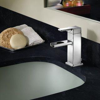 Moen 90 Degree Open Trough Single Handle Bathroom Faucet