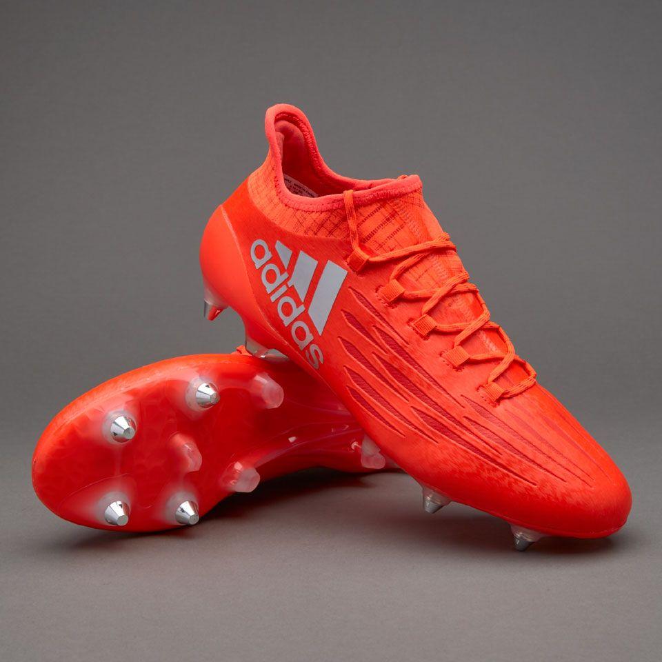 146e9beb7a66a adidas X 16.1 SG - Solar Red/Silver Metallic/Hi-Res Red | Boys ...