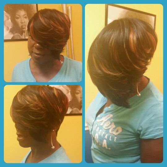 28 Piece Quickweave Laid Styles By Cola Weave Hairstyles Quick Weave Hairstyles Bobs Quick Weave Hairstyles