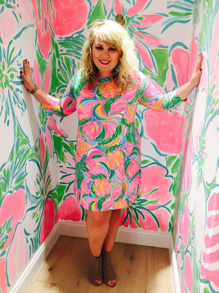 Lilly Pulitzer Ophelia Dress Curls And Contours Blog Plus Size