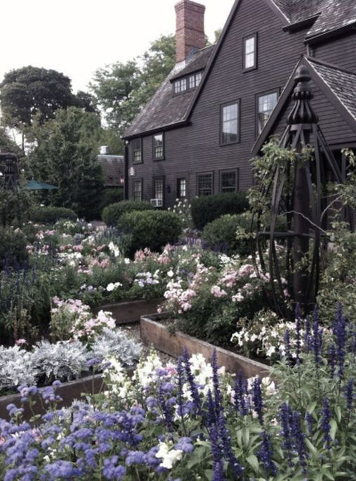 Spooky Plant and Flower Ideas to Make Perfect Goth Garden 59 – House of seven gables