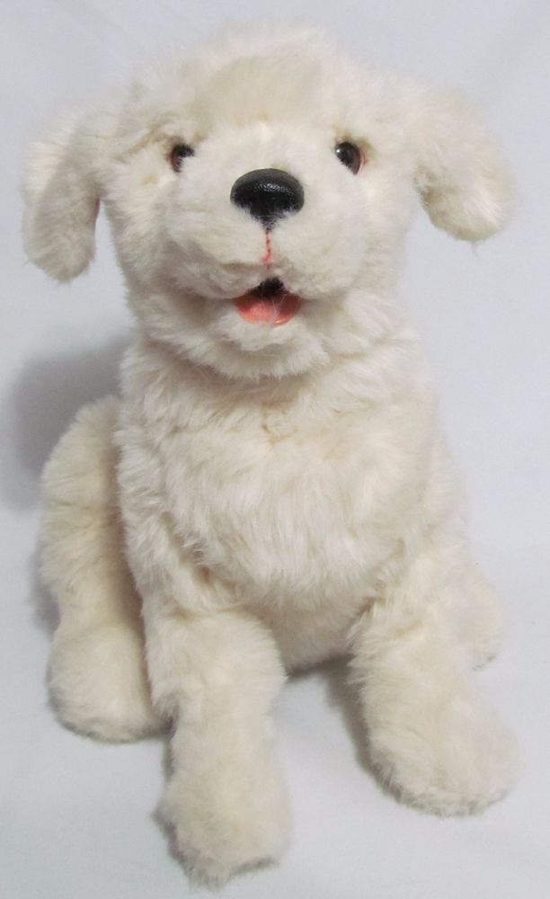 """FurReal Friends Cookie 15"""" Tall Interactive White Dog Puppy  #29203 Hasbro Gift  #Hasbro"""