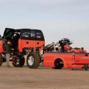 2004 Ford F350 Harley Davidson Super Duty Bed Lowered Rear Side View Trucks Ford Trucks Big Trucks