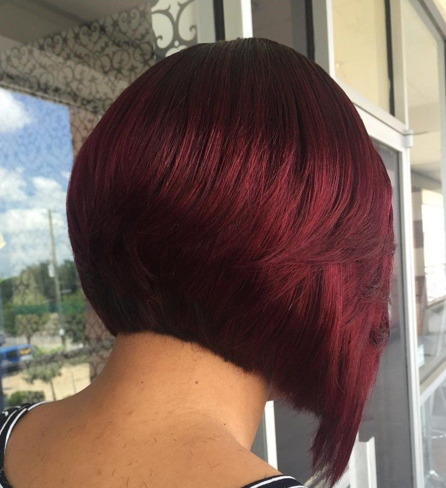 The full stack hottest stacked haircuts bobs short bobs and