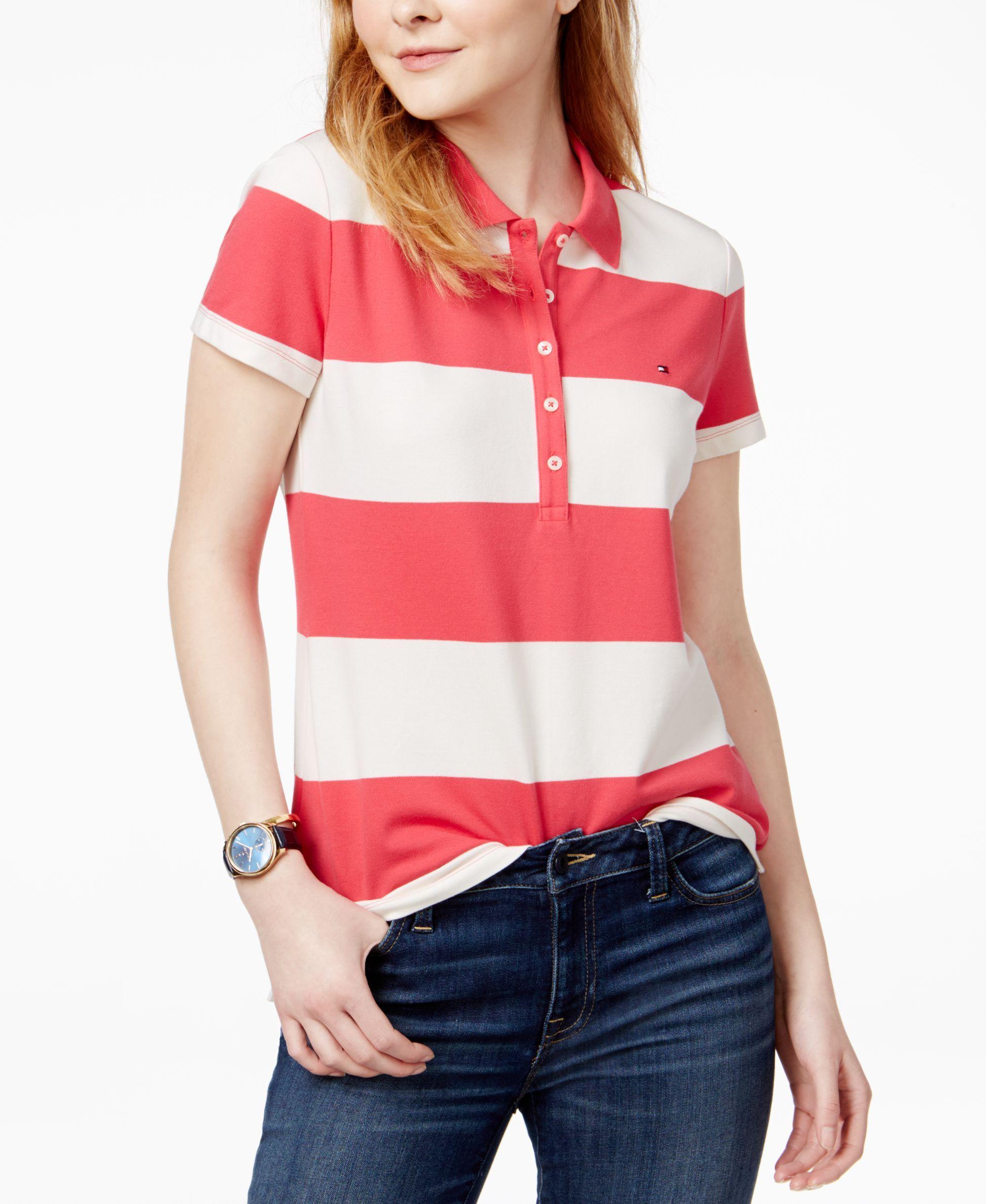 1beaa5ecbbb5 Striped Polo Tee Macys