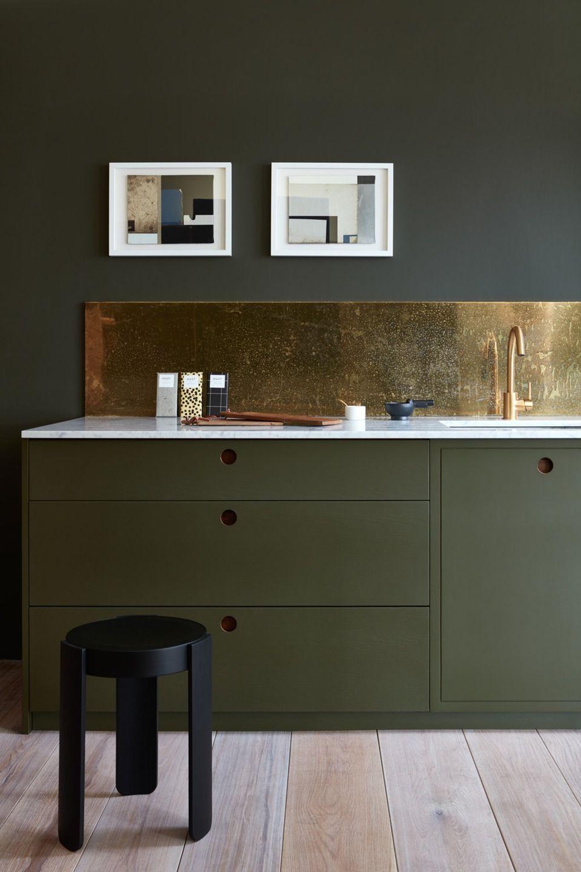 Køkkener med dramatiske farver | Pinterest | Küche, Rückwand und ...