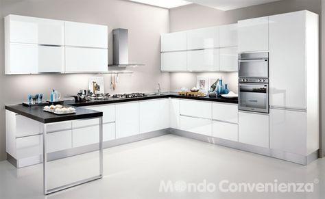 Veronica Cucine Moderno Mondo Convenienza Кухня