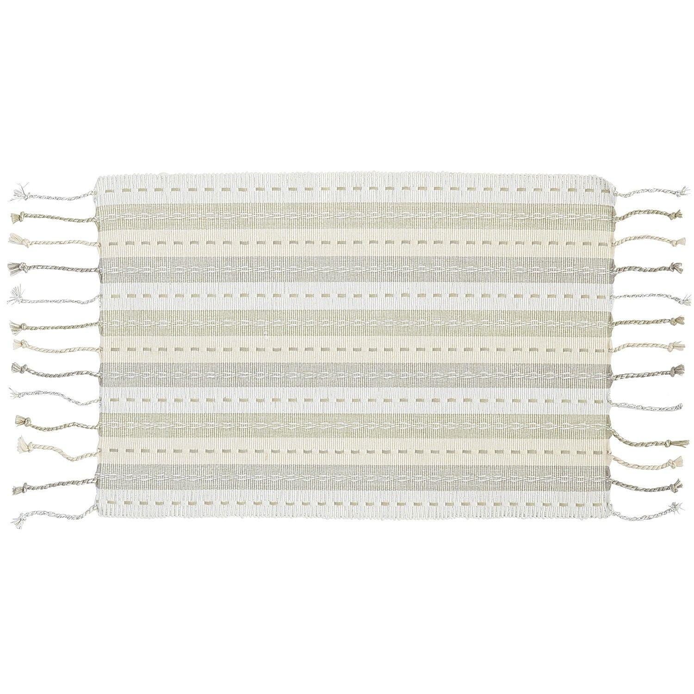 Stripe Elegant Woven Placemat