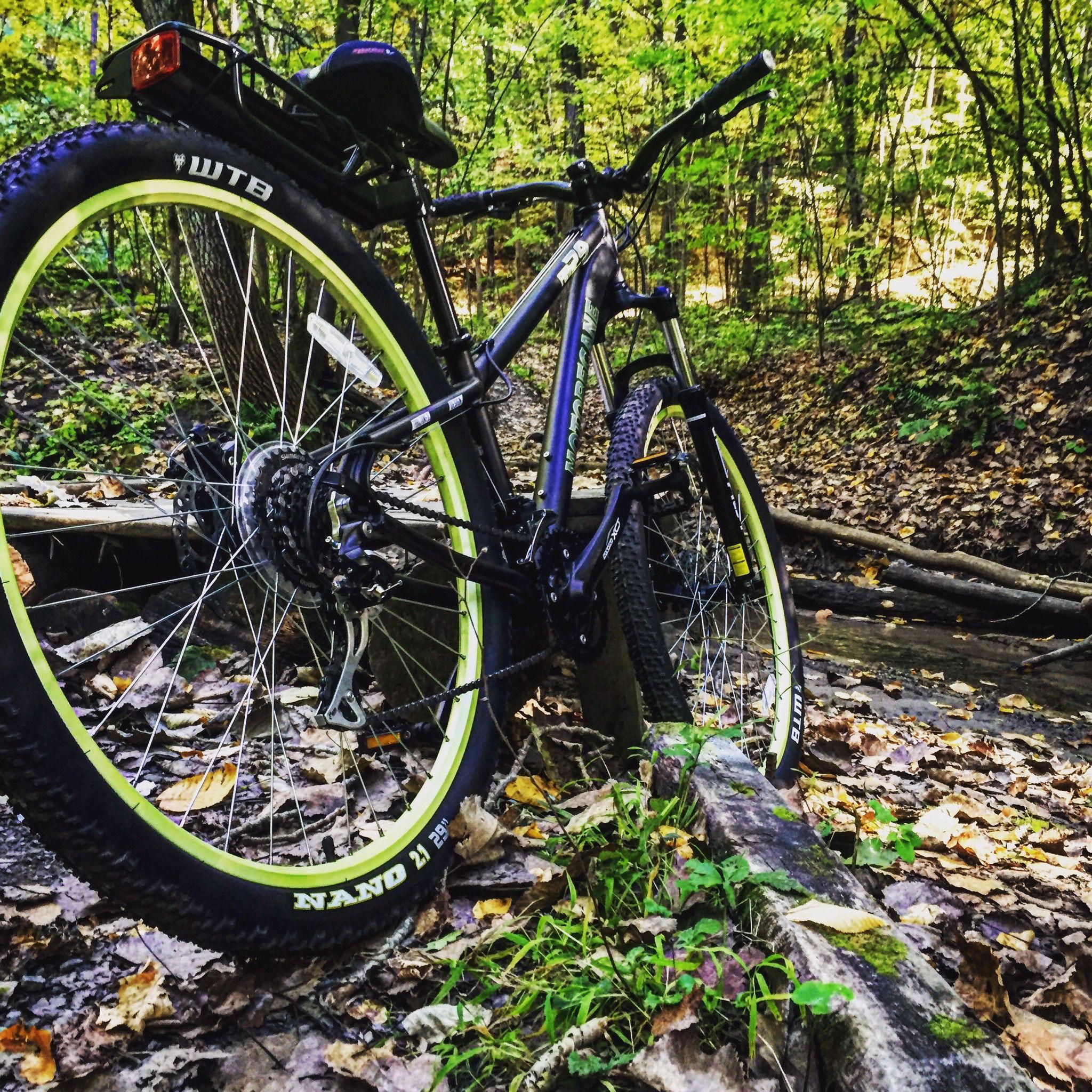 Motobecane Fantom29 Mountain Bike At Kinns Road Park Mountain