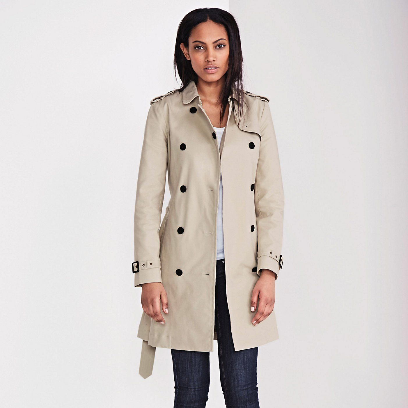 Trench Coat - Natural | The White Company | Everyday fashion ...