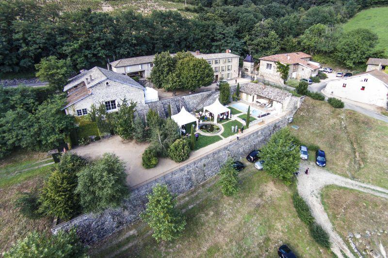 Vue aérienne du Domaine de Vavril Photo:  ©JP Gimenez