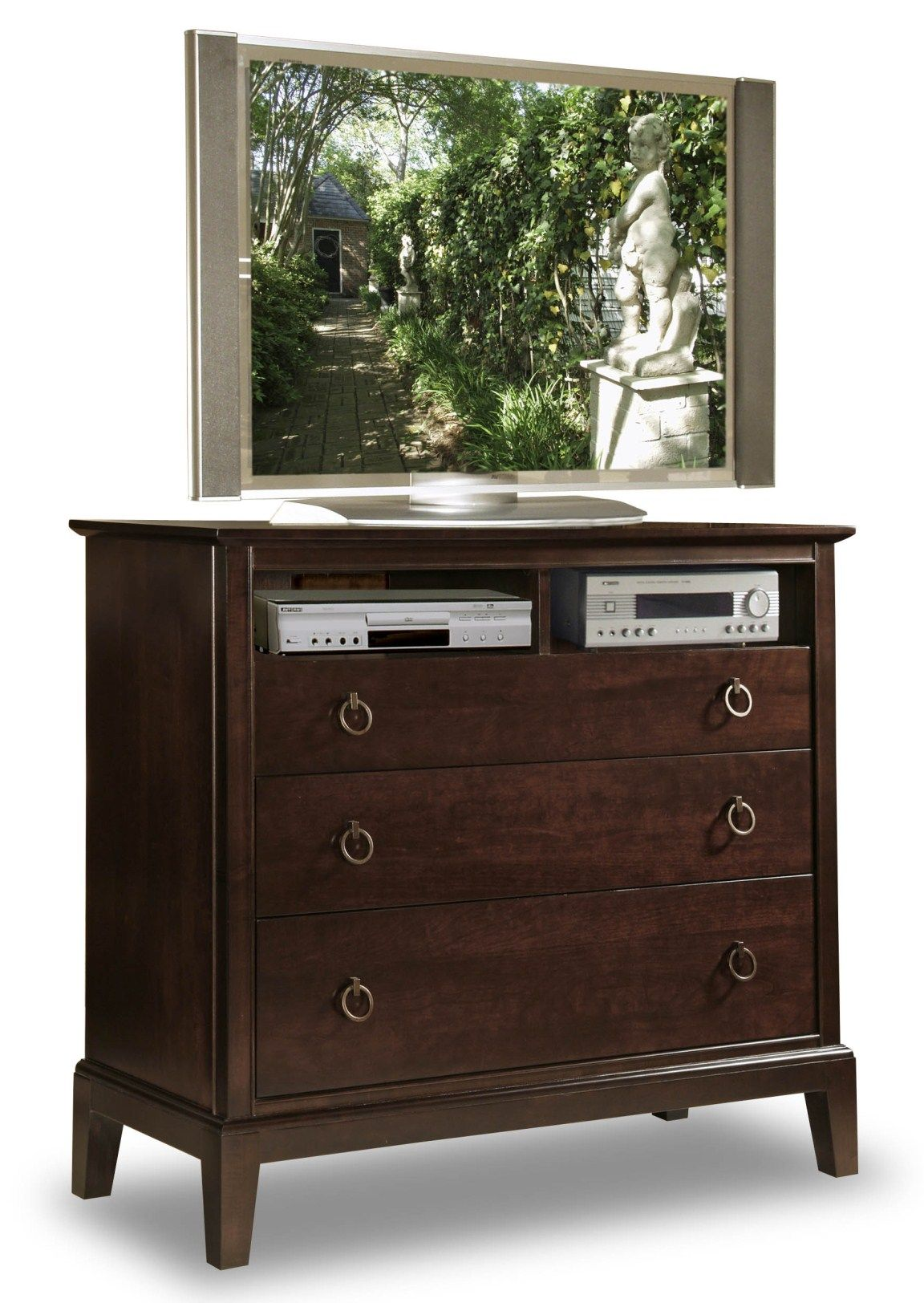 Find this Pin and more on Solid Wood Bedroom Furniture by durhamfurniture. Media  Dresser ... - Media Dresser - Eastpointe #MadeInCanada #SolidWood Solid Wood
