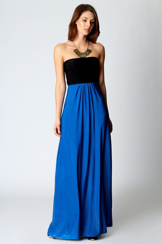 aa3068cf3b2 Heidi Slinky Bandeau Maxi Dress at boohoo.com  40.00