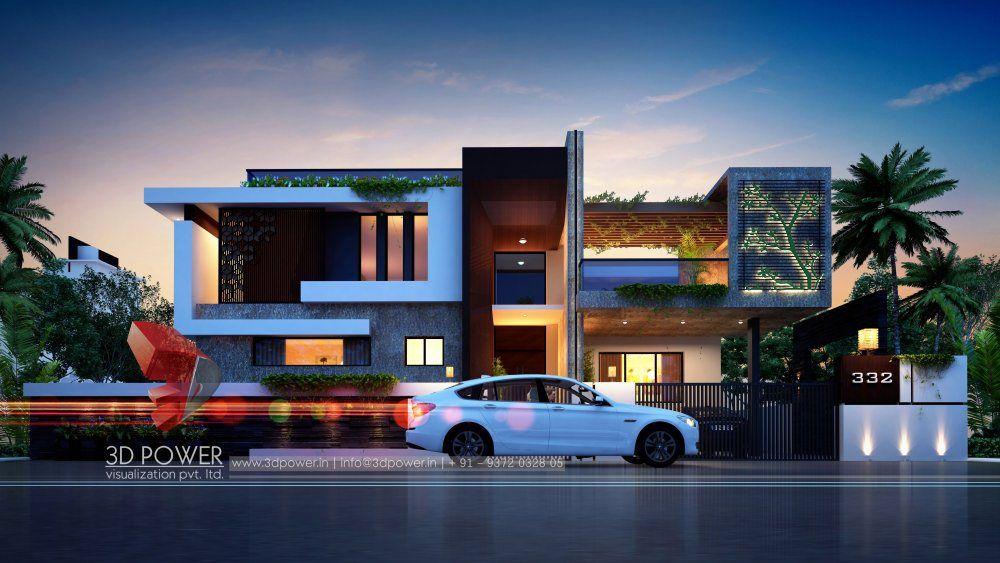 Modern Bungalow Design Architecture Modern Architecture Building