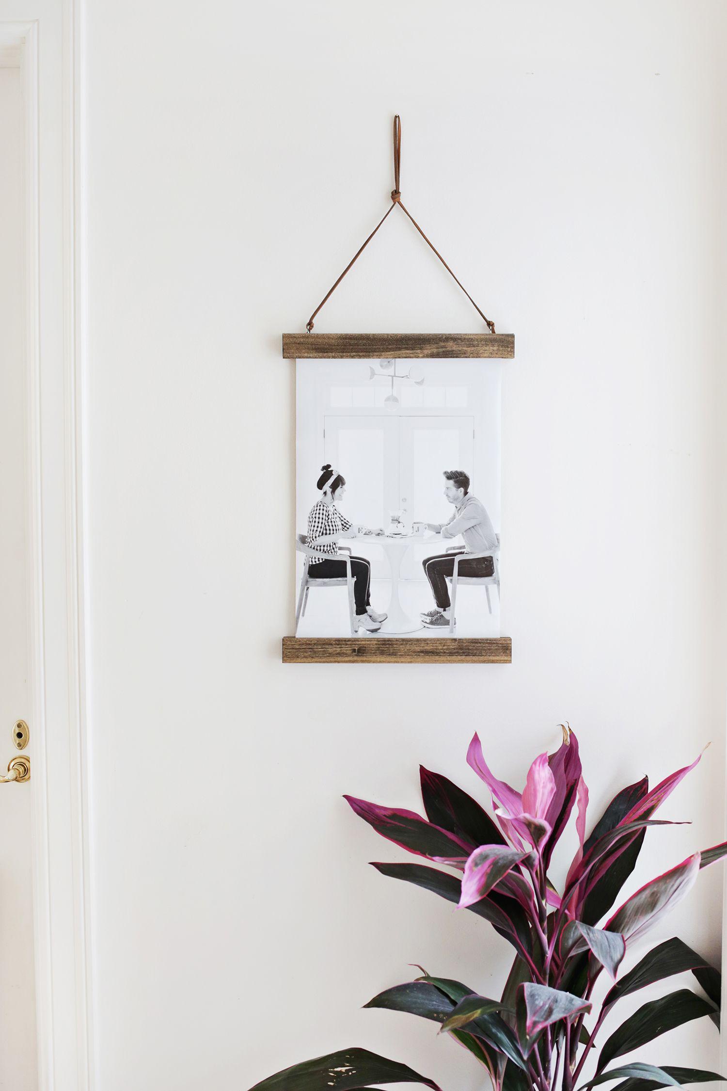 Diy Poster Hanger A Beautiful Mess