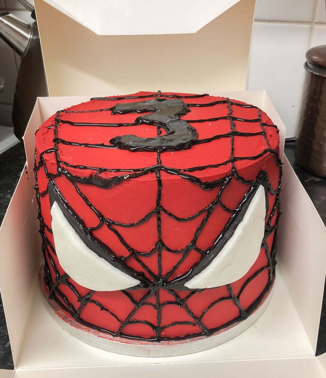 Kaiesha Bakes With Images Spiderman Cake Buttercream Frosting