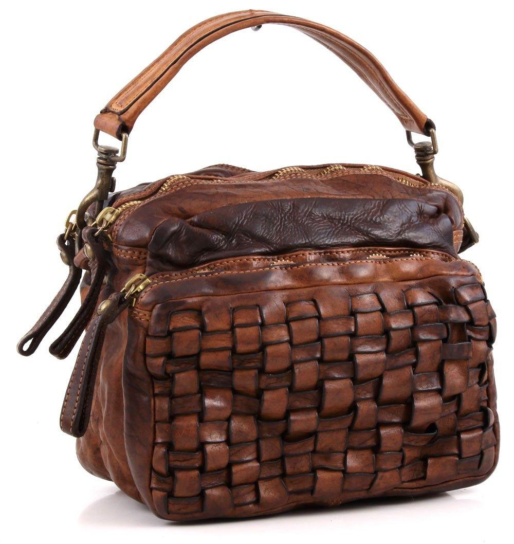 Campomaggi lavata satchel leather cognac 27 cm c1381vl - Wardow handtaschen ...
