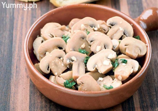 Garlic-Butter Mushrooms | Yummy.ph