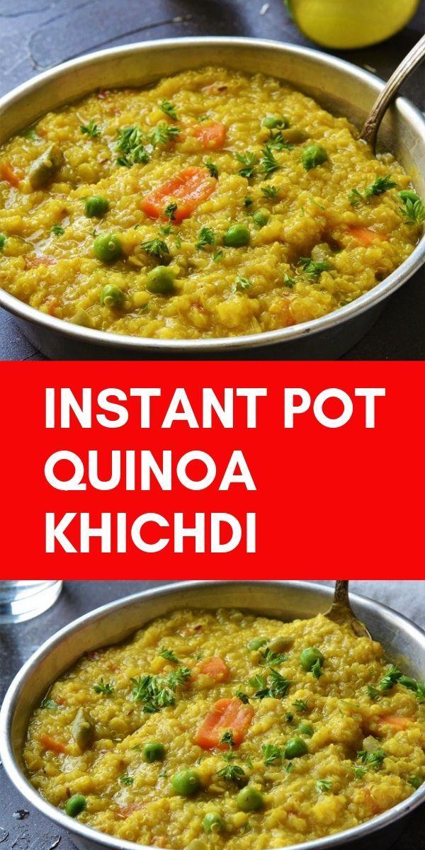 Instant Pot Quinoa Khichdi images