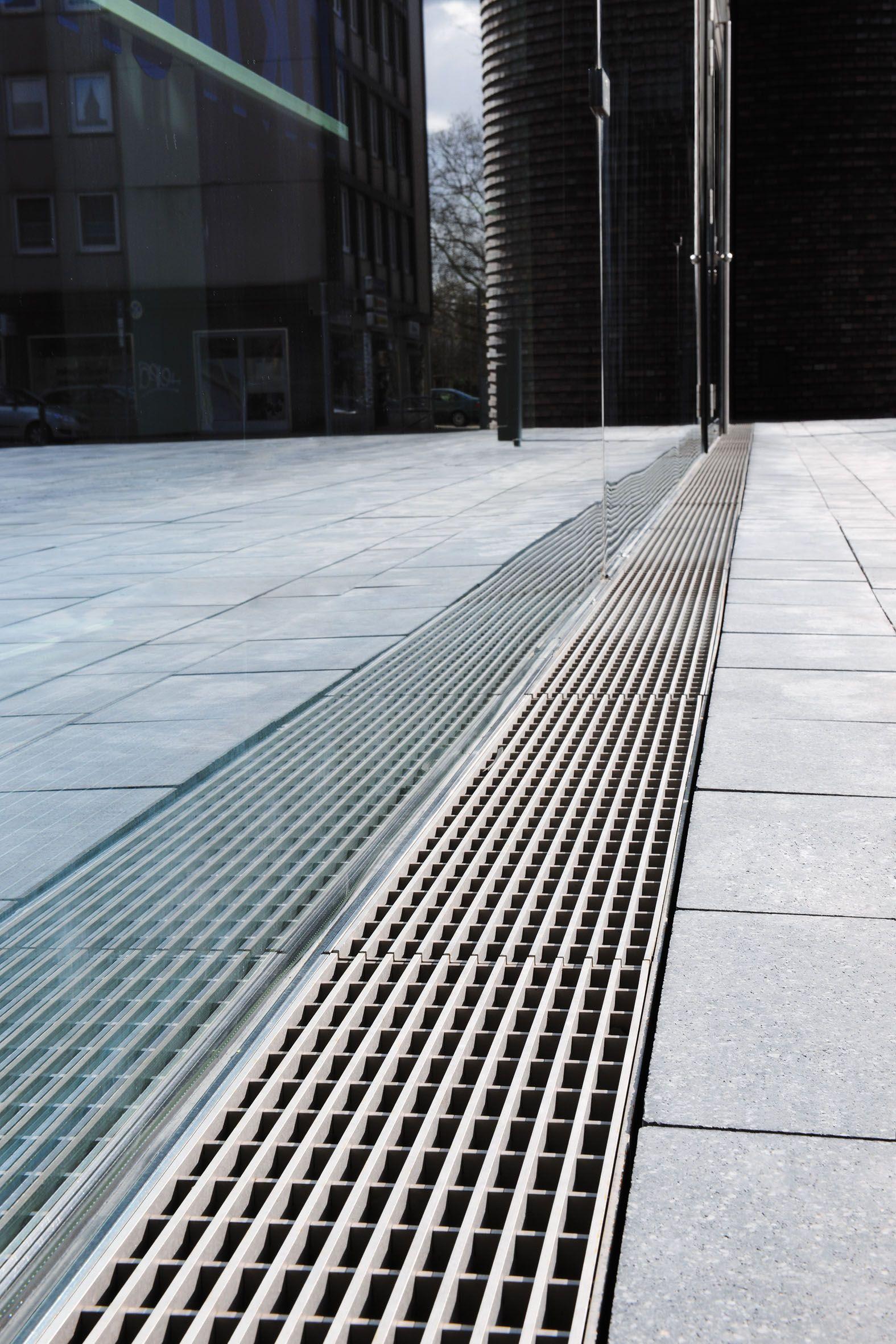 Entwasserungsrinne Edelstahl Terrasse Hofablauf Test Vergleich 43