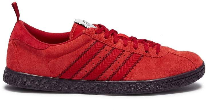 new style 3f3cb 93f07 adidas x C.P. Company 'Tobacco' 3-Stripes suede sneakers ...