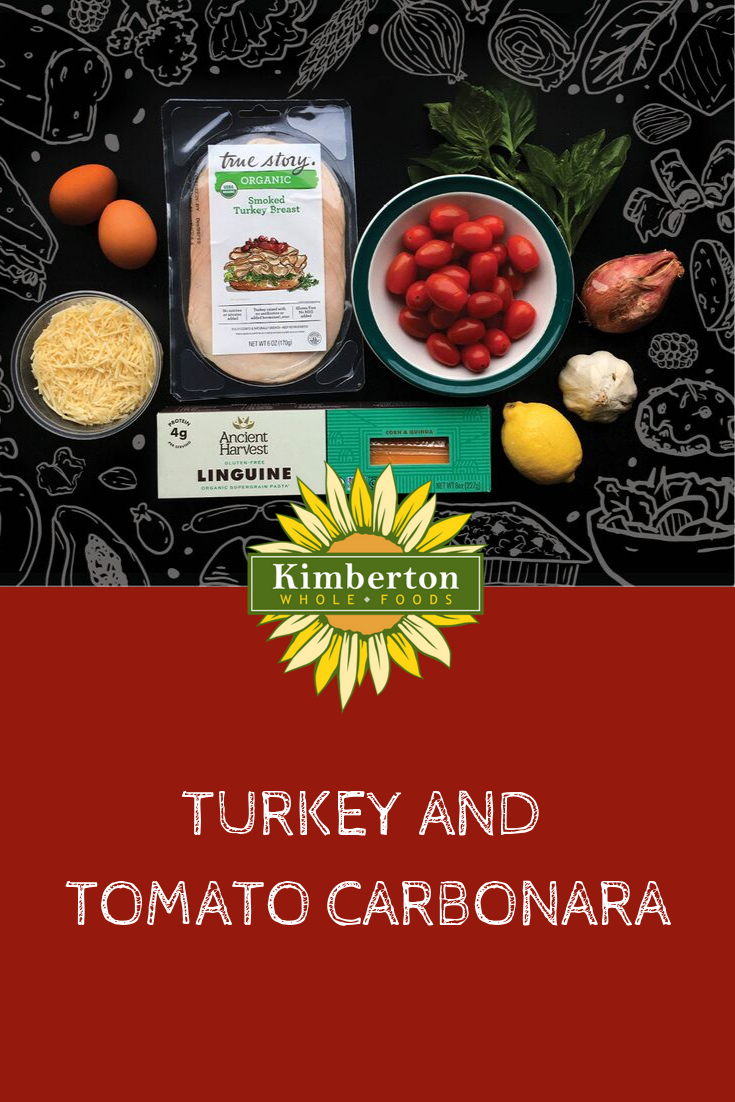 Real Meals Turkey and Tomato Carbonara How to cook