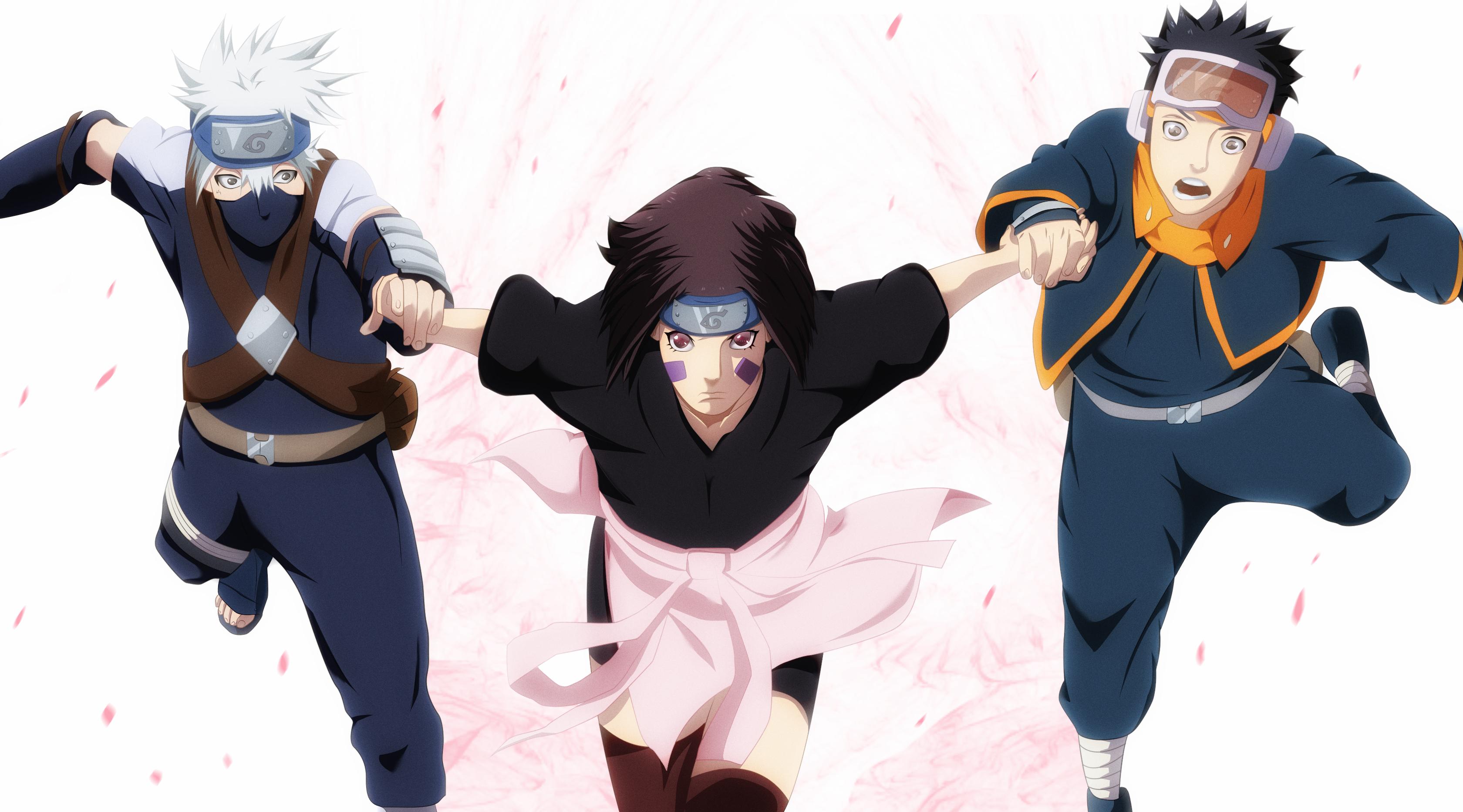 Rin We Follow You Computer Wallpapers Desktop Backgrounds 3360x1865 Id 637276 Kakashi Naruto Anime Naruto