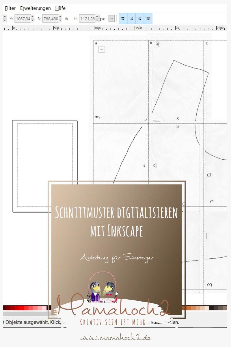 Schnittmuster erstellen: Wie man einen Druckrahmen im Inkscape ...