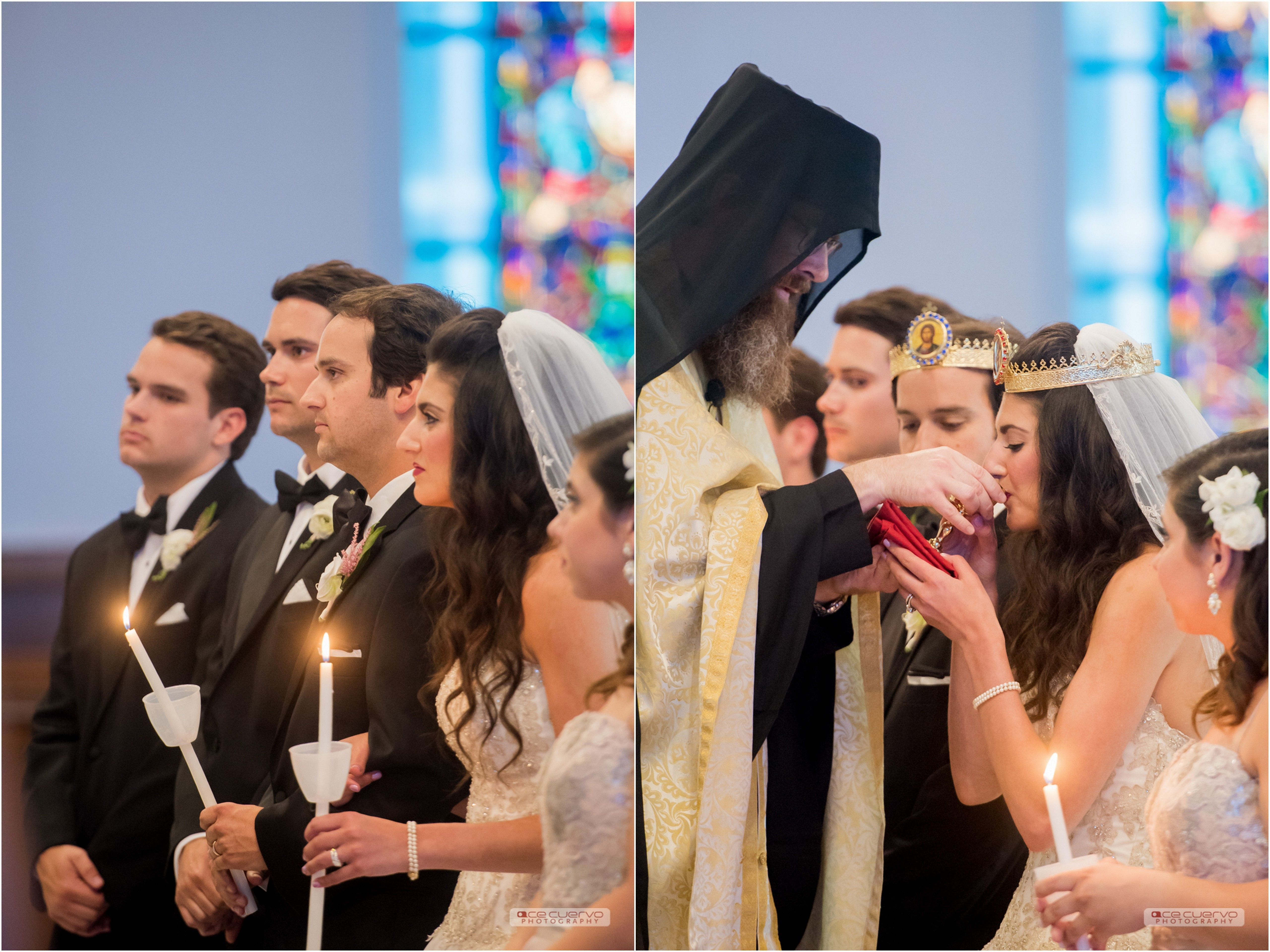 Jessica Bryan Eastern Orthodox Christian Easter Wedding Ceremony And