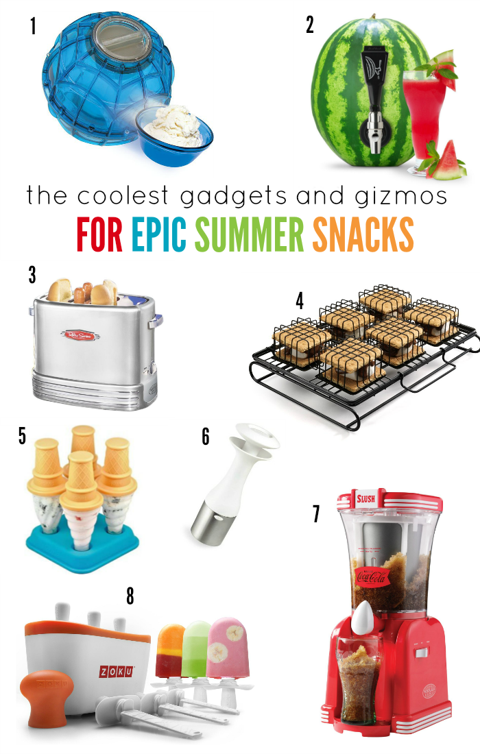 The Coolest Gadgets and Gizmos for Epic Summer Snacks | Lazy