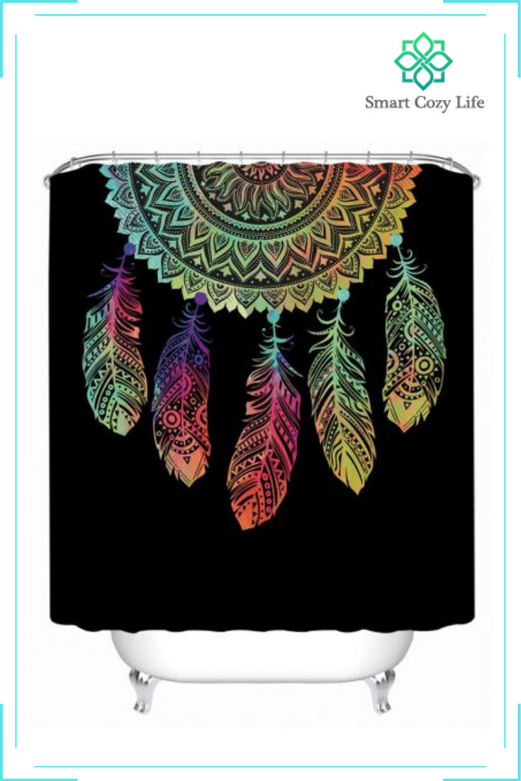 Dream Catcher Printed Shower Curtain