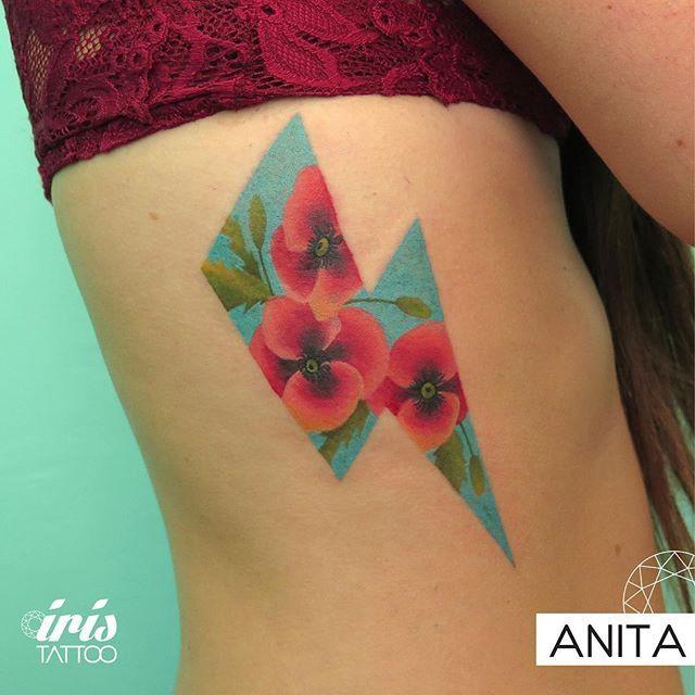 Tattoo by Anita #iristattoo  Para tatuarte con Anita escribinos a color@iristattoo.com.ar o llámanos al (011)48243197
