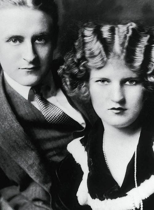 F. Scott Fitzgerald with Zelda.