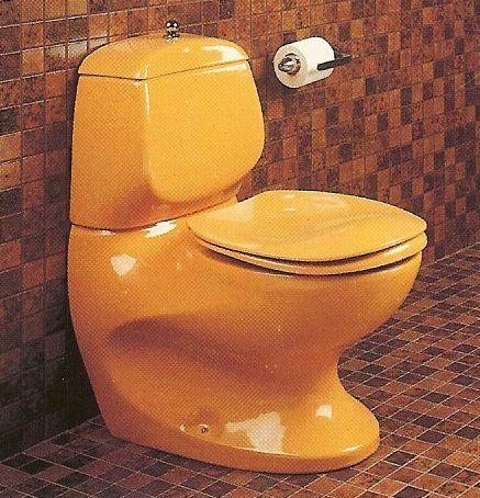 Luigi Colani Toilet For Villeroy Boch Futuristic Interior