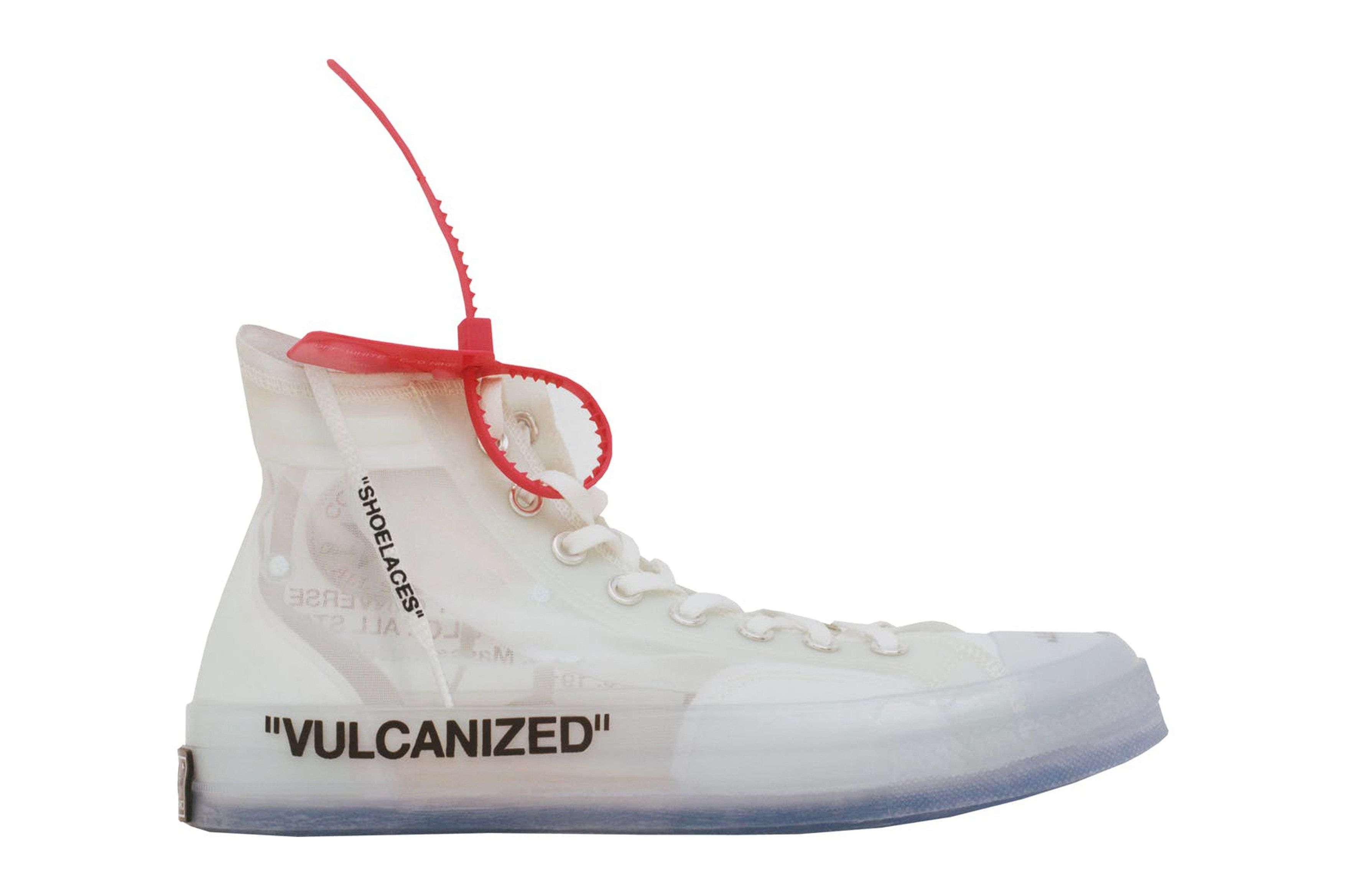 Nike And Off White's Converse Chuck Taylor Shoe Is Finally