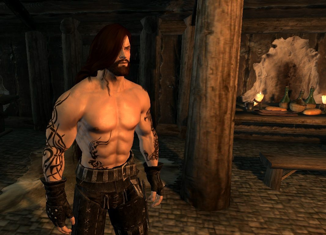 Rollo The Berserker RaceMenu Preset at Skyrim Nexus - mods