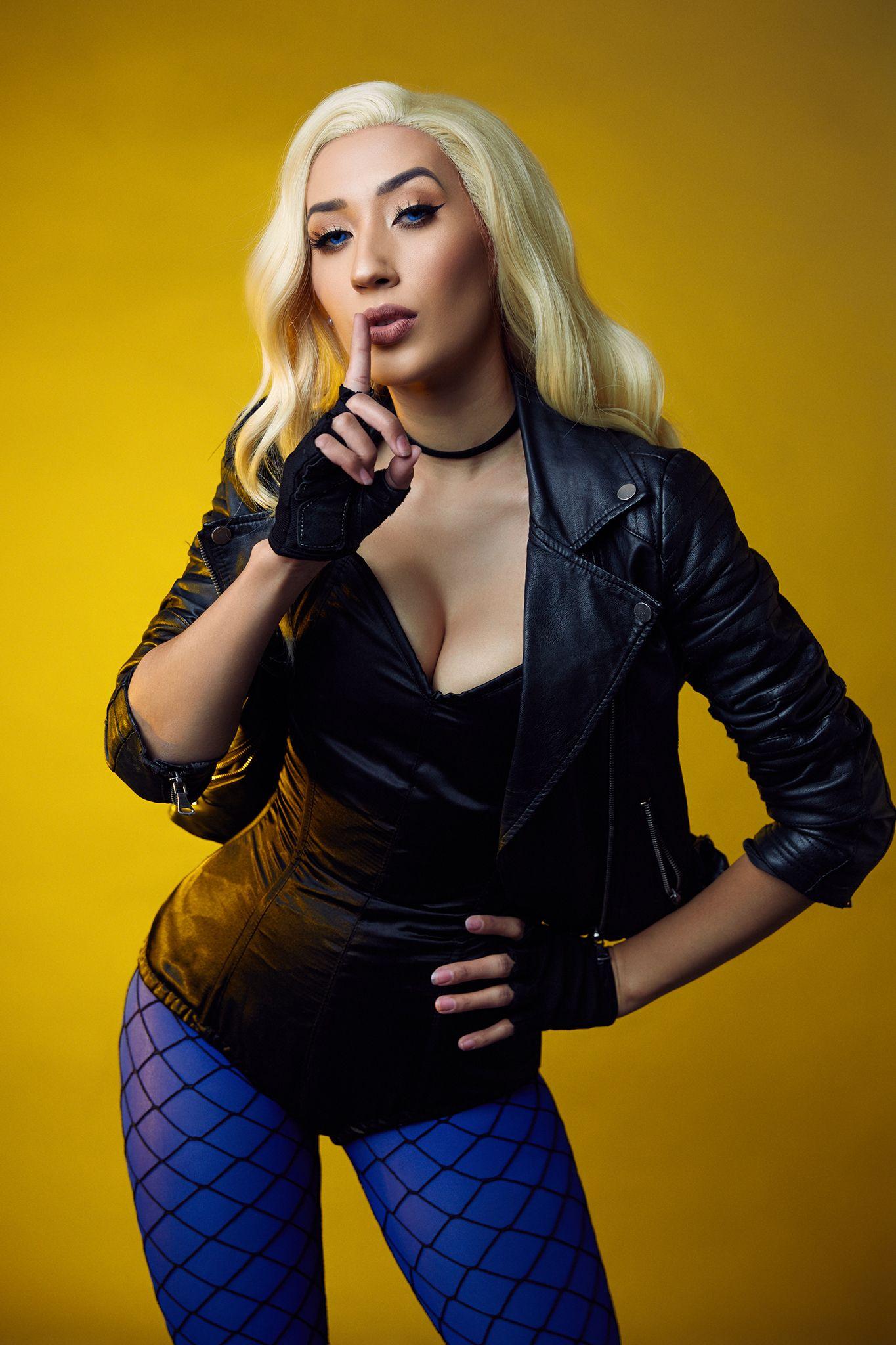 Black Canary | Black canary, Cosplay, Black