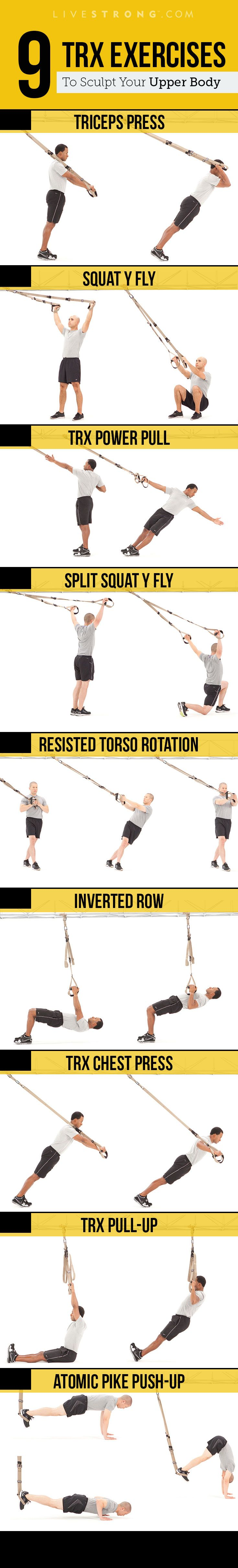 TRX Moves to Sculpt an Insanely Strong Upper Body | Health and ...