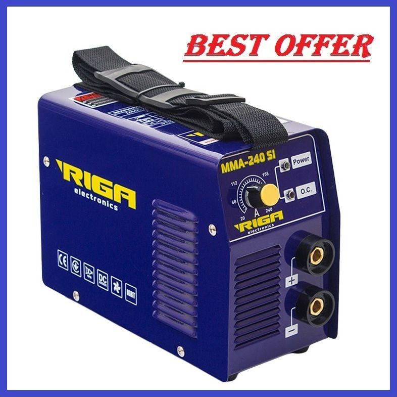 Welding Inverter Machine Riga Mma 240 Sib New Technologies Hot Start Anti Stick Welding Technology Technology Interesting Things