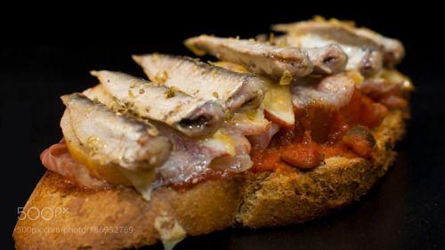 Delicious tapa with Sardines Ramón Peña by sluceron  IFTTT 500px